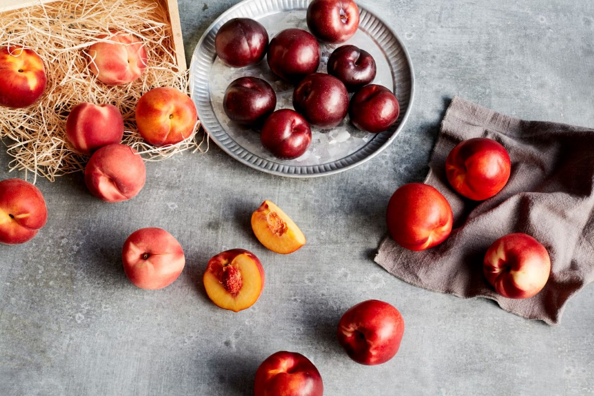 What's in Season: Red Rich Fruits Stonefruit Summerfruit