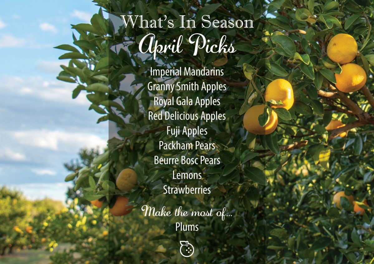 What's In Season April
