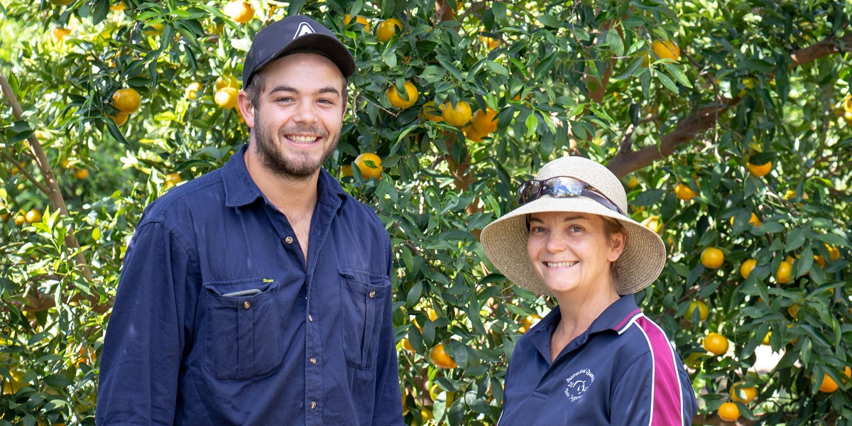 Gayndah Citrus Growers Sue & Tom Jameson