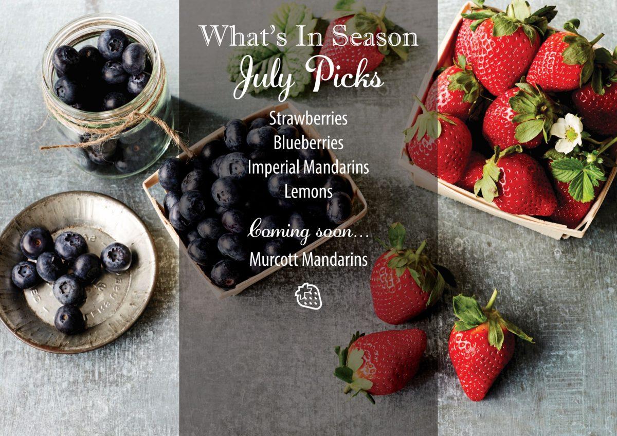 What's in Season - July