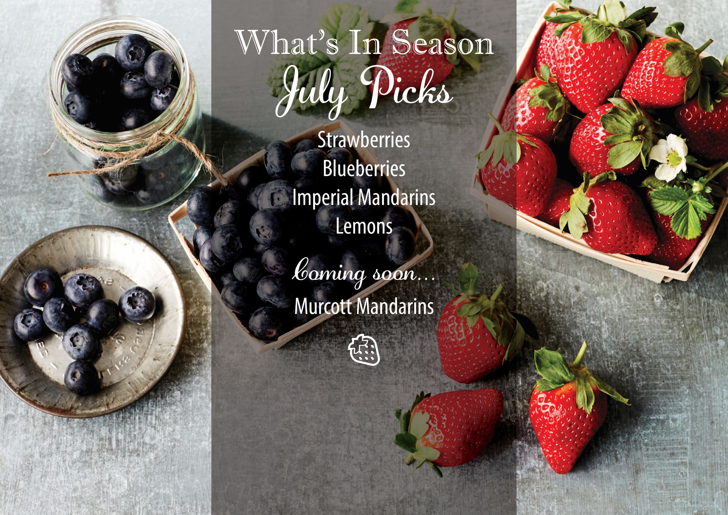 What's in Season - July
